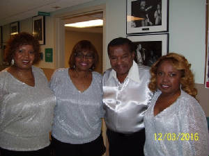Little Anthony Gourdine and The Dixie Cups