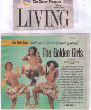 The Dixie Cups - NOLA Times-Picayune