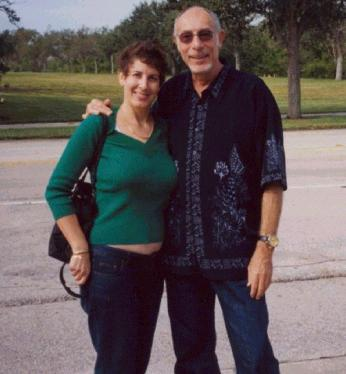 Laura with Jeff Barry, 2005