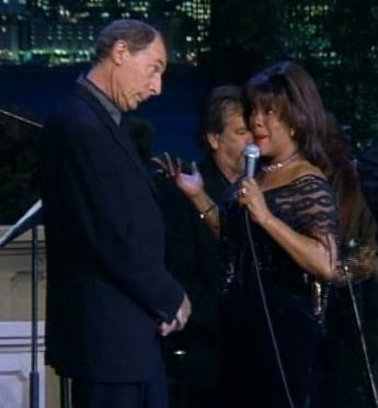 Jeff with Mary Wilson