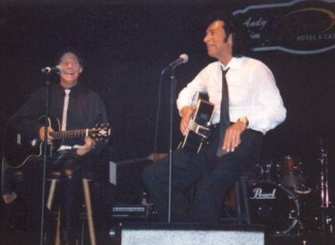 Ron Dante and Andy Kim at the Riviera, 09/06/2003