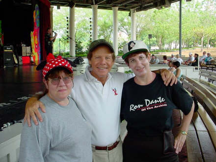 Bette, Ron and Laura at EPCOT, May 2002