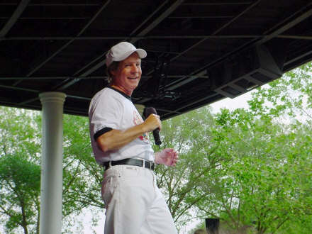 Ron Dante at EPCOT, May 2002