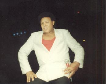 Chubby Checker in 1987