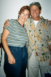 Laura and Ron backstage, Orlando, FL, 08/28/2000