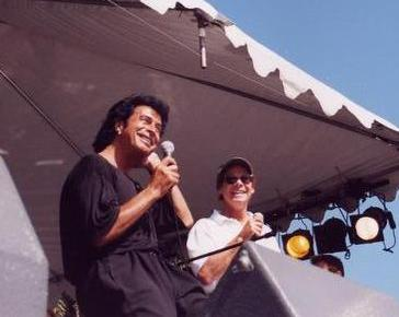 Andy Kim and Ron Dante at RetroFest 2000