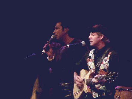 Ron Dante and Andy Kim at the Mohegan Sun