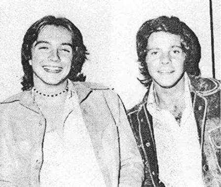 David Cassidy and Ron Dante