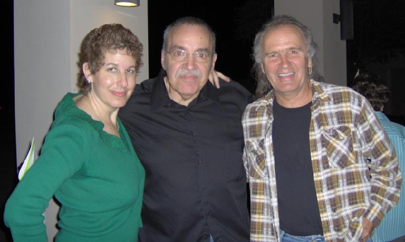 Sal DiTroia with me (Laura) and Robin McNamara