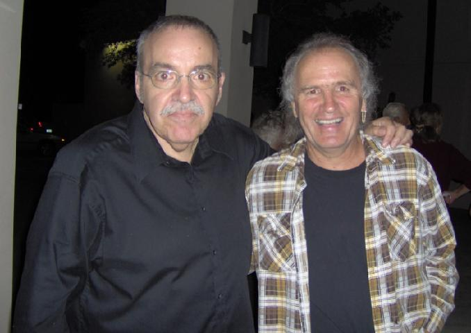 Sal DiTroia and Robin McNamara, April 2006