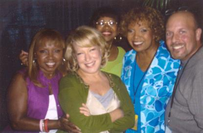 The Dixie Cups with Bette Midler & Kevin 20Sep2005