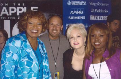 The Dixie Cups with Cyndi Lauper & Kevin 20Sep2005