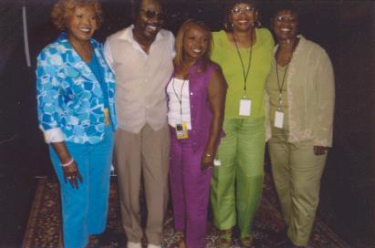 The Dixie Cups with Irma Thomas & friend 20Sep2005